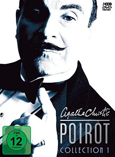 Agatha Christie - Poirot Collection 01 [3 DVDs]