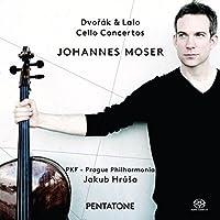 Dvorak & Lalo: Cello Concertos by Johannes Moser