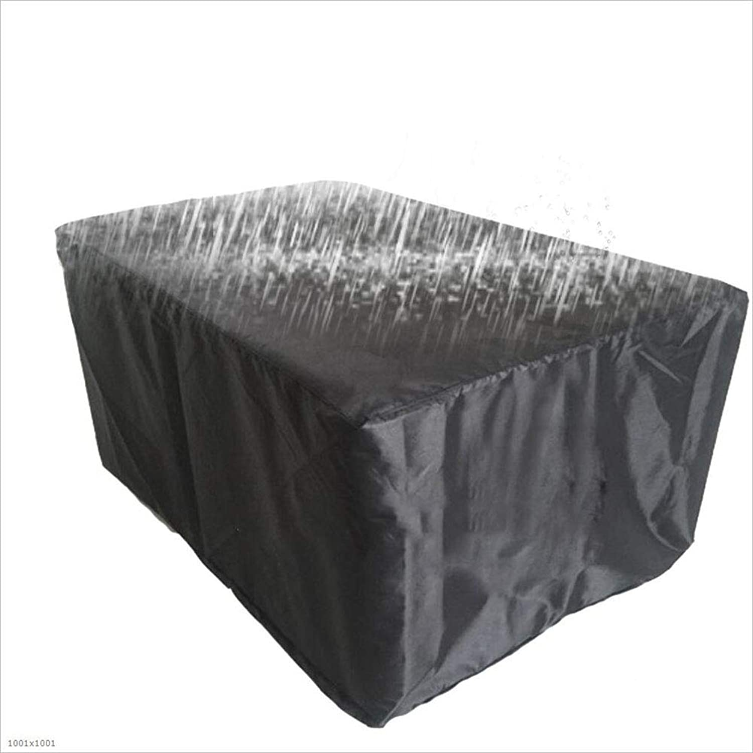 Black Outdoor Garden Furniture Cover Garden dustproof Waterproof Table Cover Awning Canvas
