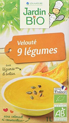 Jardin Bio Veloute 9 Legumes 1l - Lot de 4