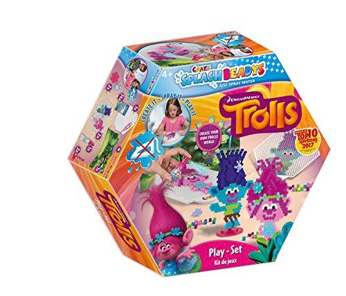 Craze 56838 - Splash Beadys, Trolls, Playset