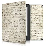 Case Compatible with Kobo Aura H2O Edition 2 - PU e-Reader Cover - Sheet Music
