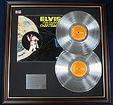 Elvis Presley - Disco doppio LP Platinum con coperchio - Aloha From Hawaii Via Satellite
