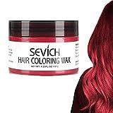 Haarfarbe Wachs - SEVICH Haarfarbe Schlamm, sofort natürliche Haarfarbe, natürliche Inhaltsstoffe...