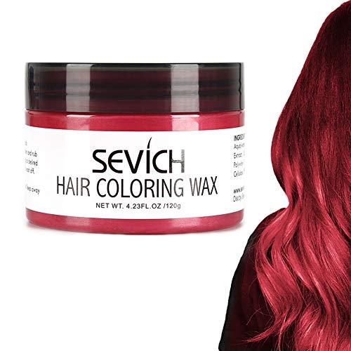 Haarfarbe Wachs - SEVICH Haarfarbe Schlamm, sofort natürliche Haarfarbe, natürliche Inhaltsstoffe waschbar, temporär 100g / 3.57Oz