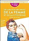 Déclaration des droits de la femme et de la citoyenne par Gouges