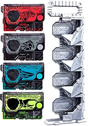 仮面ライダーゼロワン DXプログライズキーコネクタ&アメイジングヘラクレスプログライズキー+ DXフレイミングタイガー + DXバイティングシャーク + DXパンチングコング プログライズキー 4種セット