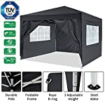 Bunao 3x3m/ 3x6m Pop Up Garden Canopy Waterproof Gazebo Camping Tent Shelter Outdoors 2
