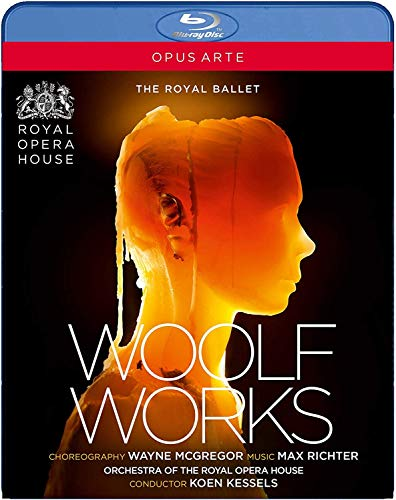 Richter: Woolf Works [Anush Hovhannisyan; Gillian Anderson; Orchestra of The Royal Opera House; Koen Kessels] [Opus Arte: OABD7247D] [Blu-ray]
