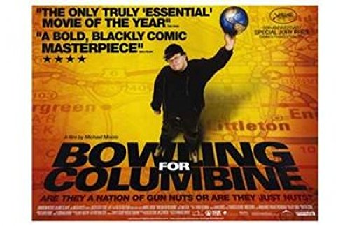Bowling for Columbine Plakat Movie Poster (11 x 17 Inches - 28cm x 44cm) (2002) B