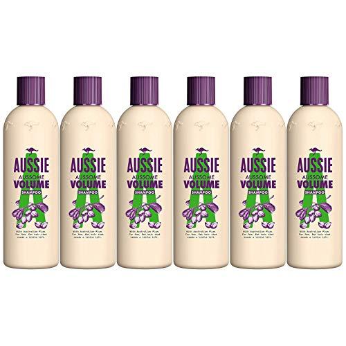 6 x Aussie Aussome Volume Shampoo 300ml