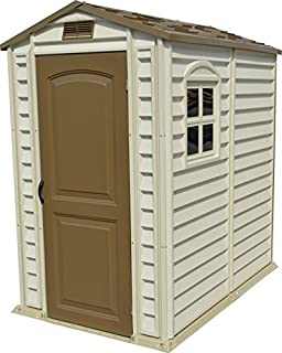 Duramax 30621 StorePro Vinyl Shed with Floor, 4 by 6-Inch
