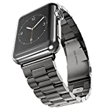 Apple Watch Armband, eLander™ solides Edelstahl Gliederarmband für die Apple Watch 1,2,3, mit...