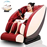 ACC Elektrischer Massagestuhl, Raumkapsel-Hals-Ganzkörper-Kneten Elektrischer Massagegerät Smart-Sofa-Stuhl, Shiatsu, Rollen, Vibration, beruhigende Hyperthermie