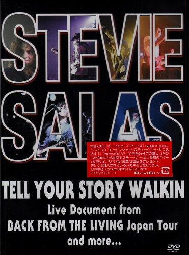ザ・エッセンシャル・スティーヴィー・サラス VOL.1 -Tell Your Story Walkin- [DVD]