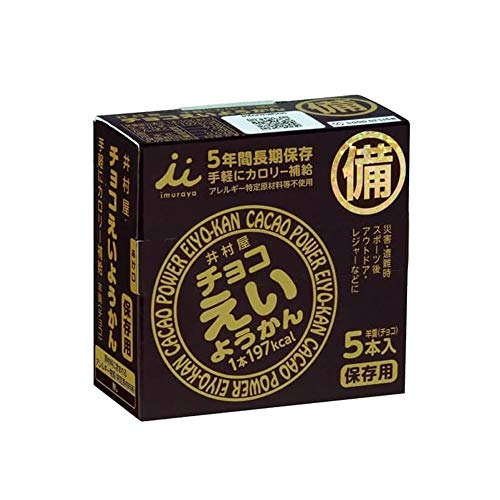 井村屋 チョコえいようかん 10箱