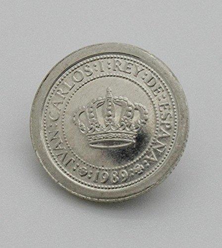 Moneda de Plata Conmemorando el 500 Aniversario del Descubrimiento de America. Moneda de 100 Pesetas del Año 1989 de Plata. Moneda Coleccionista.