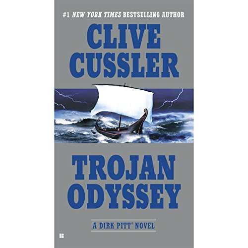 Trojan Odyssey audiobook cover art