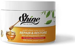 Shine Keratin Hair Mask With Honey & Milk 500 ml, Pack of 1, 1-33