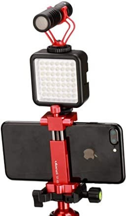 Luntus Ecouteur a Microphone de Port a la Tete unidirectionnel a Dos electret avec fiche et Faisceau de Flexion