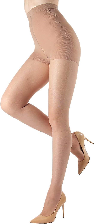 Levante Silk Caresse Silky Soft Sheer Control Top Pantyhose