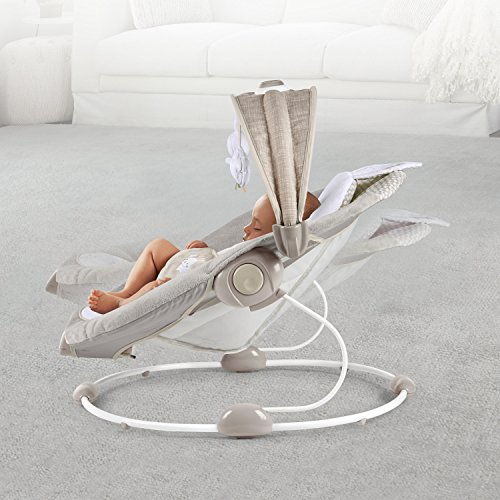 51GdVtGDY8L The Best Fully Reclined Baby Swings for 2021 Review