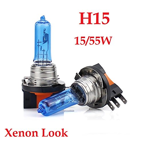 Autolampe Halogen Lima Cool Blue H15 12V 15//55W PGJ23t-1 Super White