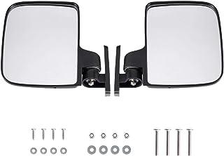 آینه های جانبی تاشو BETOOLL HW9008 صندوق های گلف برای کلوپ اتومبیل ، EZGO ، یاماها ، ستاره ، صندوق های منطقه