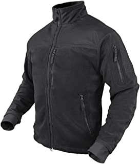 Condor Alpha Micro Fleece Jacket (Black, XX-Large)