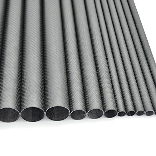 """Fly Rod Case Rod Tube Brushed Anodized Aluminum 2/""""x26/"""" I.D Tube for 4 pc 8/'-0/"""""""