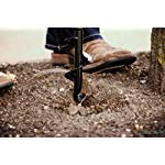 """Power Planter 100% USA Made 2""""x7"""" Container Planting & Grass Plug Auger 12 100% MADE IN THE USA, with USA sourced materials. Made by family farmers for over 30 years for your garden Quickly and efficiently plant bedding plants, grass plugs, and small bulbs Non-slip hex drive to fit any 3/8"""" or larger drill"""