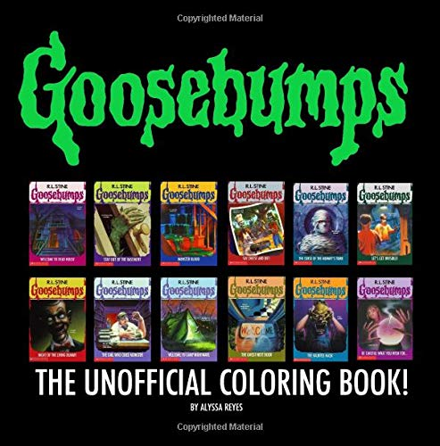 Goosebumps: The Unofficial Coloring Book