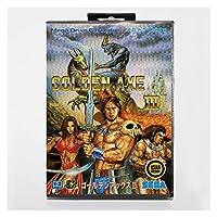 CHENZHEN 小売箱 - ゴールデン斧3 IIIゲームカードのカード収入16ビットセガMDゲームカートリッジメガドリブ創世記システム (Color : JP BOX)