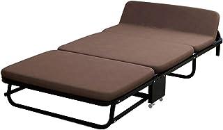 Caishuirong Lit Pliant Durable for Bureau d'intérieur Balcon Patio Jardin Plage extérieur Lit Pliant Portable Double Pause...