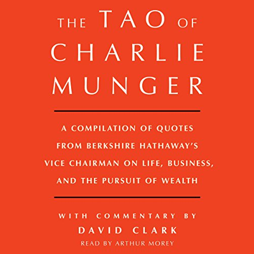 Tao of Charlie Munger  By  cover art