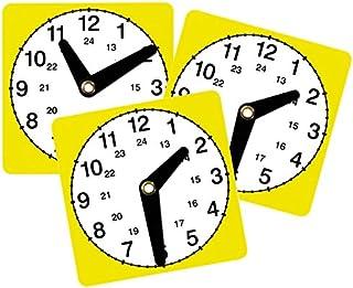 Uhrzeit-Flip Mathematik Grundschule Uhr Kinder Rechnen mit der Zeit Lernen Betzold 754731