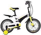 YYhkeby Bicicletas 14 Pulgadas niños, Bicicletas de niños con el Entrenamiento de la Rueda de Regalo 3-5 años de Edad niños y niñas (Color: Rojo) Jialele (Color : Black)