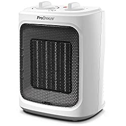 Ceramic Technology: This space heater features advanced ceramic heating elements which provide faster and more energy efficient heating than regular oil filled radiators. This electric heater is perfect for keeping you warm this winter. 2 Power Setti...