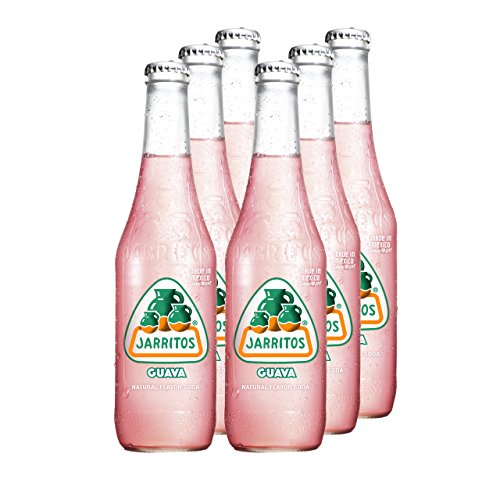 JARRITOS Guave Limonade, 6er Pack, EINWEG (6 x 370 ml)