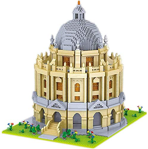 Arquitectura Mundial Oxford University School 3D DIY Mini Diamond Blocks Ladrillos Edificio De Juguete para Niños Regalo con Caja