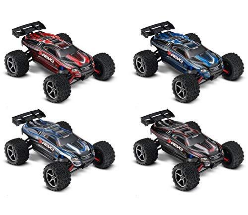 RC Auto kaufen Truggy Bild 2: Traxxas 71054-1 E-Revo 1:16 Brushed RTR 2,4GHz 4WD RC-Truggy 230V Lader schwarz*