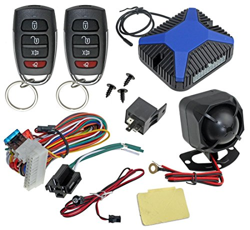 InstallGear Car Alarm Security and Keyless Entry System