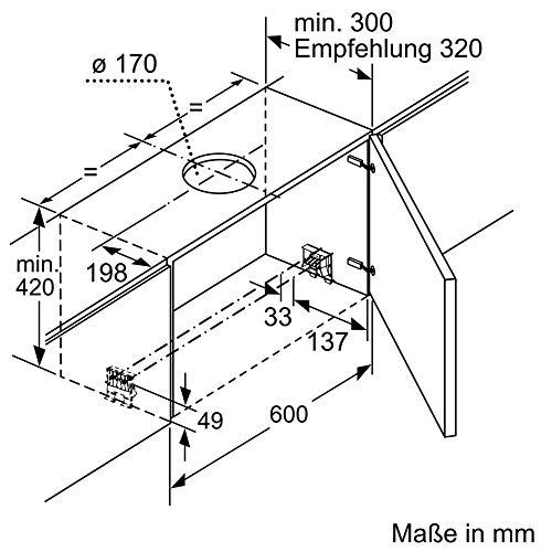 Bosch DFR067A50 Serie 4 Flachschirmhaube - 6
