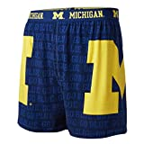 FANDEMICS NCAA University of Michigan Men's Boxer Short, Men's Large (36-38)