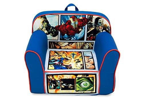 Delta Children Foam Snuggle Chair, Marvel Avengers
