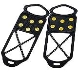 Delfa Dual Traction Schuh Spikes für Schnee und...