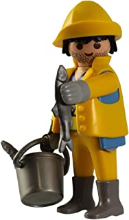 Playmobil Blue Boy Fi?ures 5596 Series 8 Fisherman Figure