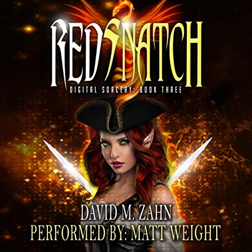 Red Snatch audiobook cover art