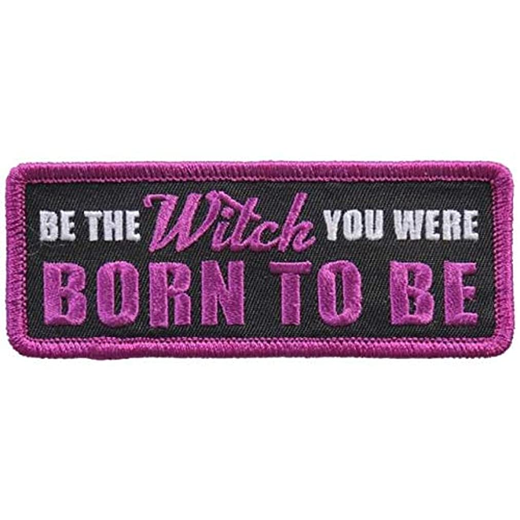 BE The Witch You were Born to BE Iron On Patches - Sew On Artwork Applique Patch, 4