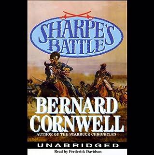 Sharpe's Battle audiobook cover art